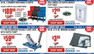 Harbor Freight 30 Off Coupon Code May 2019 Free Items 50 Off