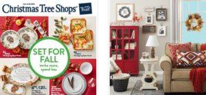 Christmas Tree Shop Coupon Code